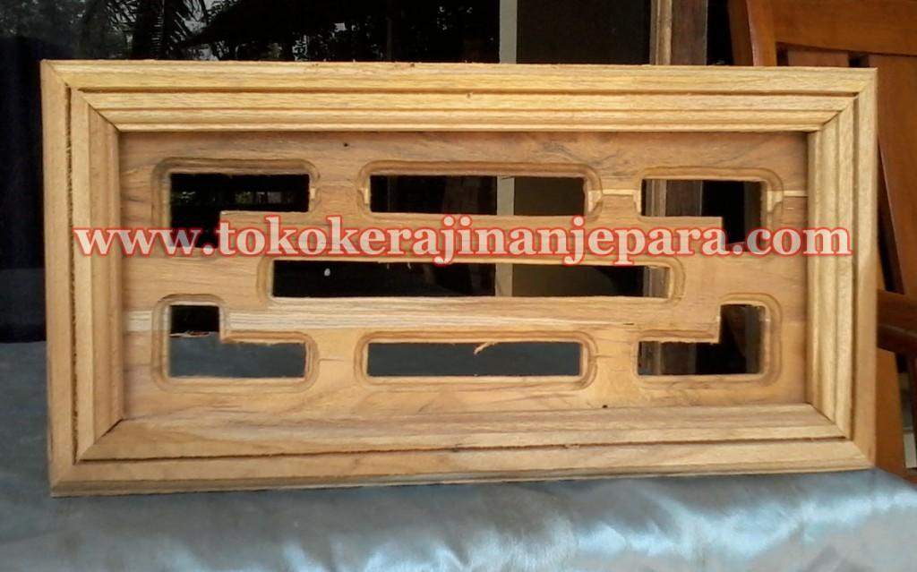 loster kayu minimalis