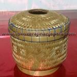 tempat tisu dari bambu