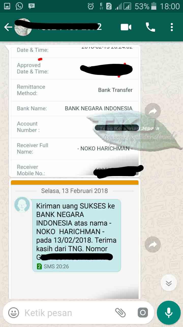 Roster Lubang Angin Pesanan Ibu Azizah Kabupaten Batang