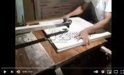 VIDEO MEMBOBOK KALIGRAFI KAYU JEPARA